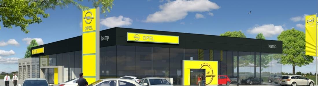 Nieuwbouw Opel Kamp Twente